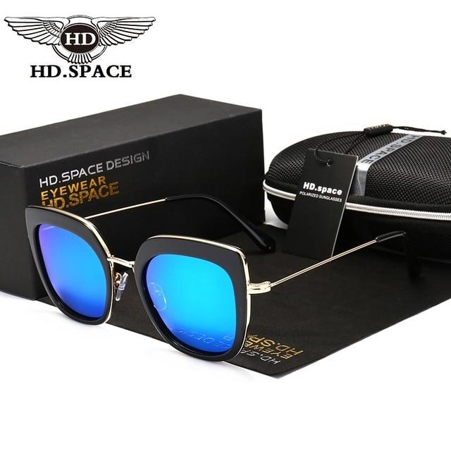 3749857efd HD Caliente Manera De Las Mujeres Polarizadas gafas de Sol Del Ojo de Gato  Retro Gafas. Sitúa el cursor encima para ...