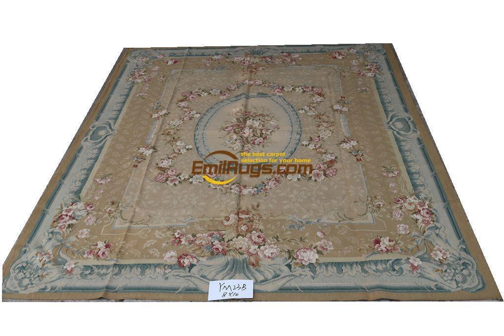 Area Rug Aubusson Rug Wool Rug 244CMX305CM 8 U0027X 10u0027 YM23Bgc156aubyg6