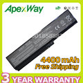 Apexway 4400 mah batería para toshiba pa3817 pa3816u pa3817u pa3818u para satellite l645 l700 l730 l735 l740 l745 l755 l750 l655
