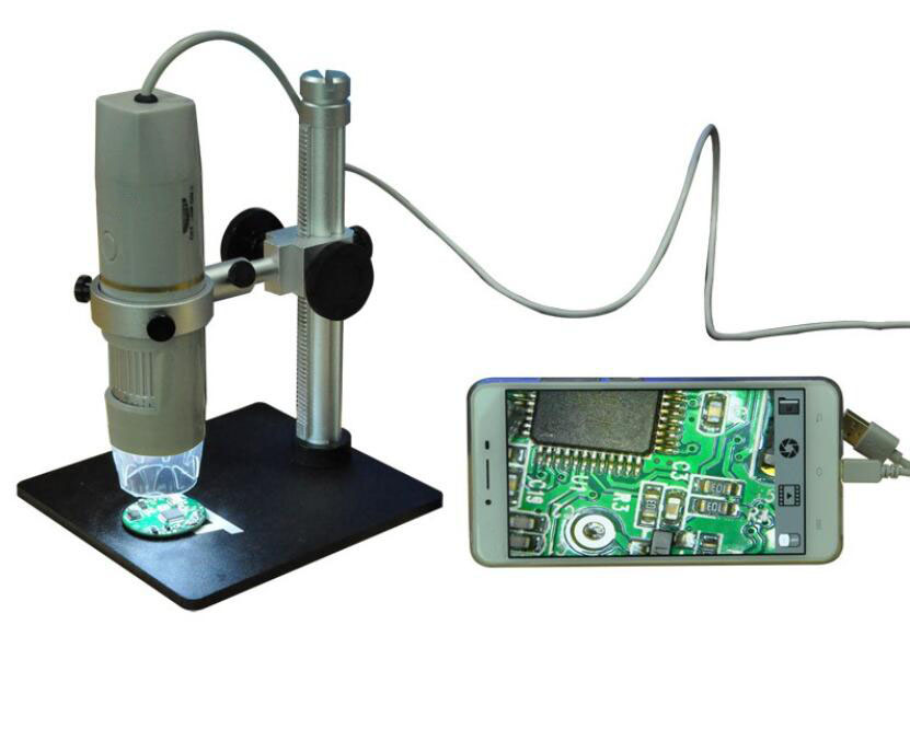 The new high quality usb pen microscope camera for 2017 and the microscope magnifying glass with cold light source  цены