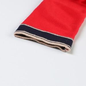 Image 4 - Mulheres De Longo Cardigan 2019 Runway Designer V neck Único Breasted Bolsos Vermelho Cardigan Oversized Sweater Casaco de Malha Outwear