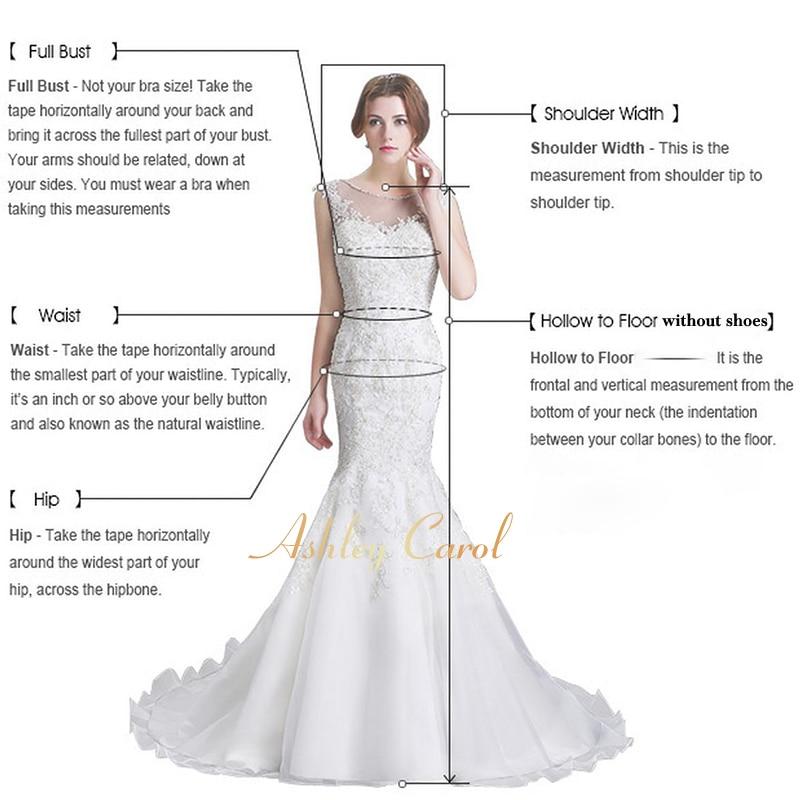 Image 4 - Ashley Carol Wedding Dress 2019 Deep V neckline Off the Shoulder 2 In 1 Detachable Train Vintage Mermaid Bride Gown Customized-in Wedding Dresses from Weddings & Events