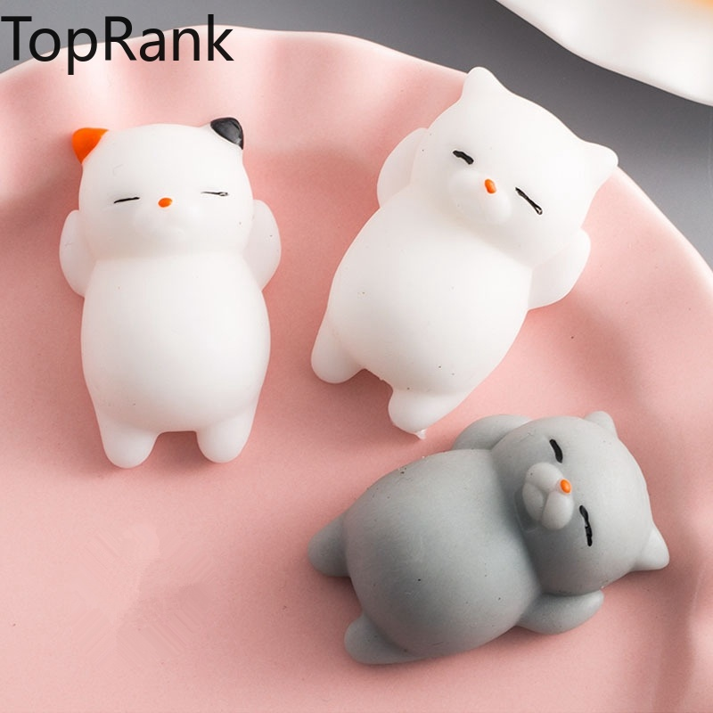 TopRank 40+ Style Choice Wipes Antistress Boot Ball Sticky Eliminate Stress Squeeze Decompression Squishy Soft Cute Cat Fun Toys squishy soft cute cat wipes antistress boot ball decompression sticky eliminate pets fun stress squishies squeeze friet kit toys