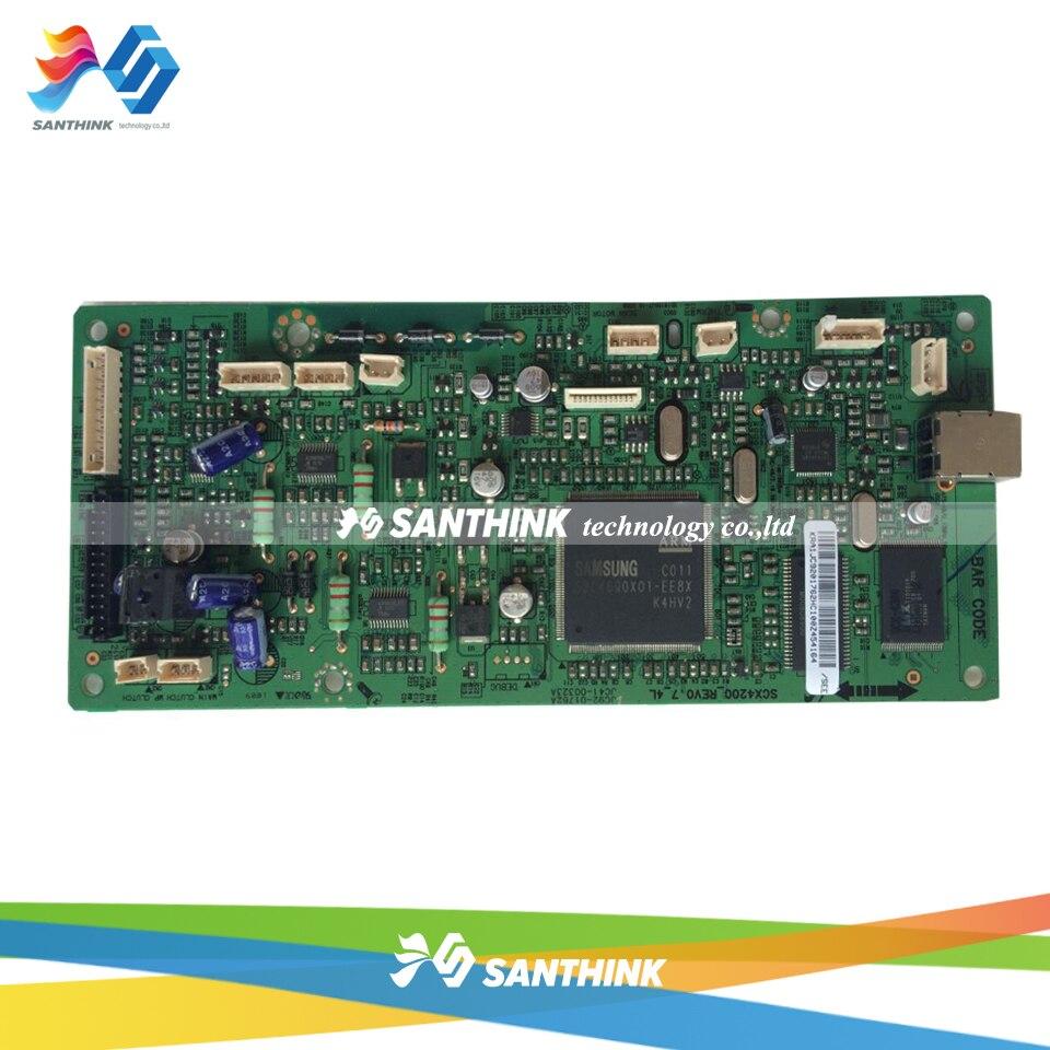 Main Board For Samsung SCX-4200 SCX 4200 SCX4200 Formatter Board Mainboard On Sale refill toner cartridge for samsung scx 4200 d4200a scx4200 scx 4200 scx d4200a exp eur reset chip printer toner cartridge parts