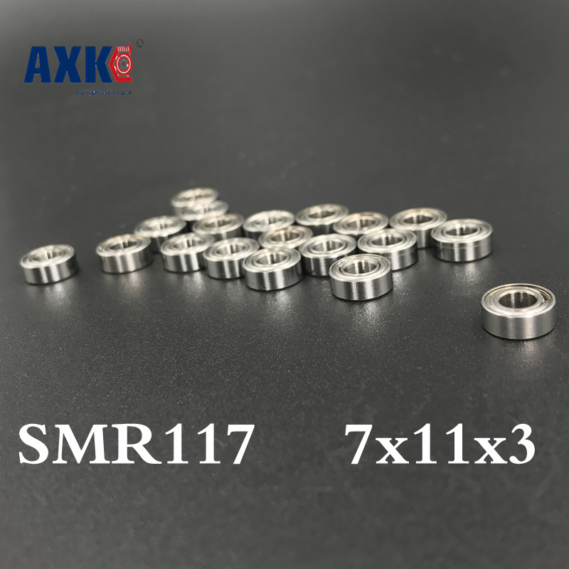 2018 New Arrival Special Offer Thrust Bearing Free Shipping 4pcs 7x11x3 Metal Shields Bearings Abec-7 Smr117 Zz 2018 special offer solid new arrival