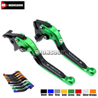 For KAWASAKI VN 650 VULCAN S VN650 VULCANS 2015 2016 2017 Motorcycle Folding Extendable Brake Clutch Levers 20 Colors