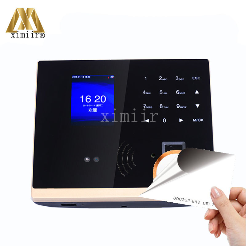 ZK Latest Touch Screen With Infrared Camera 125KHz Card Access Control System GM500 Biometric Employee Time Attendance