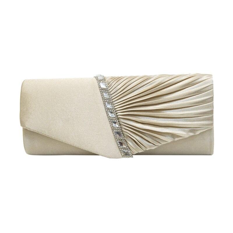 Women Clutch Lady Handbags Party Satin Bags High Quality Purse Wedding Clutch Female Evening Bags Diamonds Handbags Bling