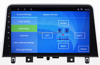 Ouchuangbo 10.1 inch android 8.1 car media gps navigation for JAC S3 2017 support 1080P video WIFI mirror link