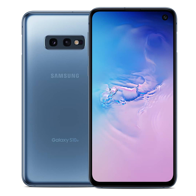Samsung Galaxy S10e G970U Original LTE Android Mobile Phone Snapdragon 855 Octa Core 5.8″ 16MP&12MP 6GB RAM 128GB ROM NFC