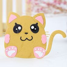 AZSG Cute Cat Cutting Dies For DIY Scrapbooking Decoretive Embossing Stencial Decoative Cards Die Cutter