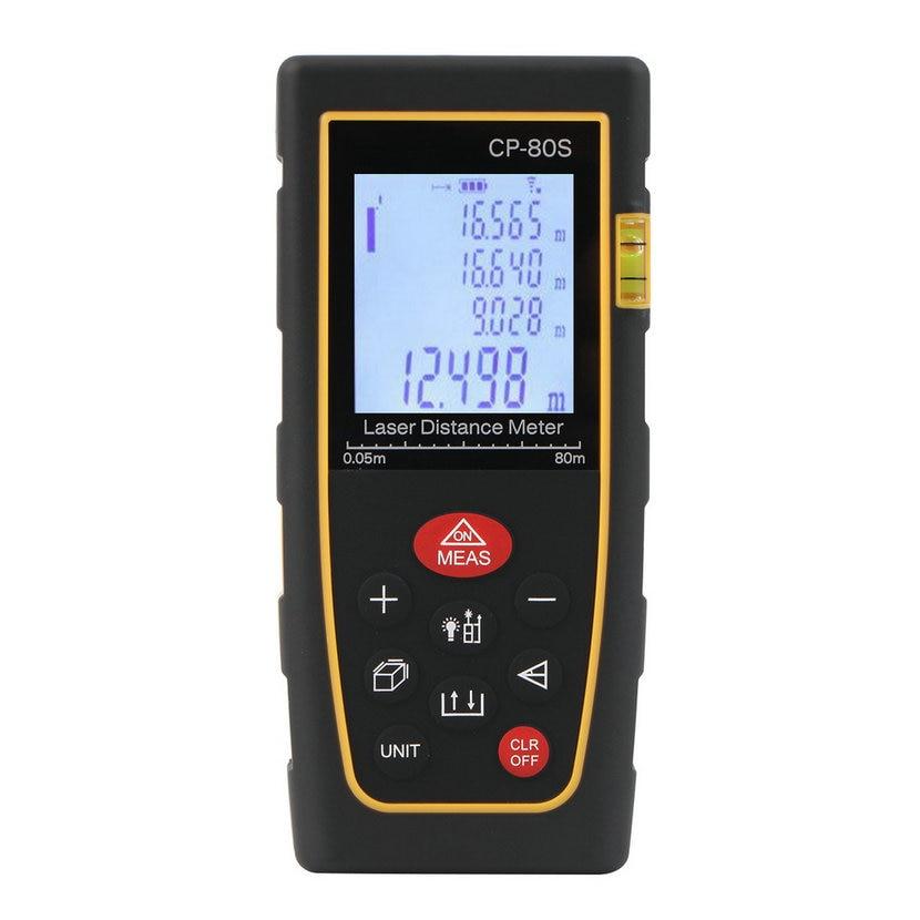 Top Sale 80M Handheld Digital Laser Distance Meter Range Finder Measure Diastimeter Rangefinders Hot Sale