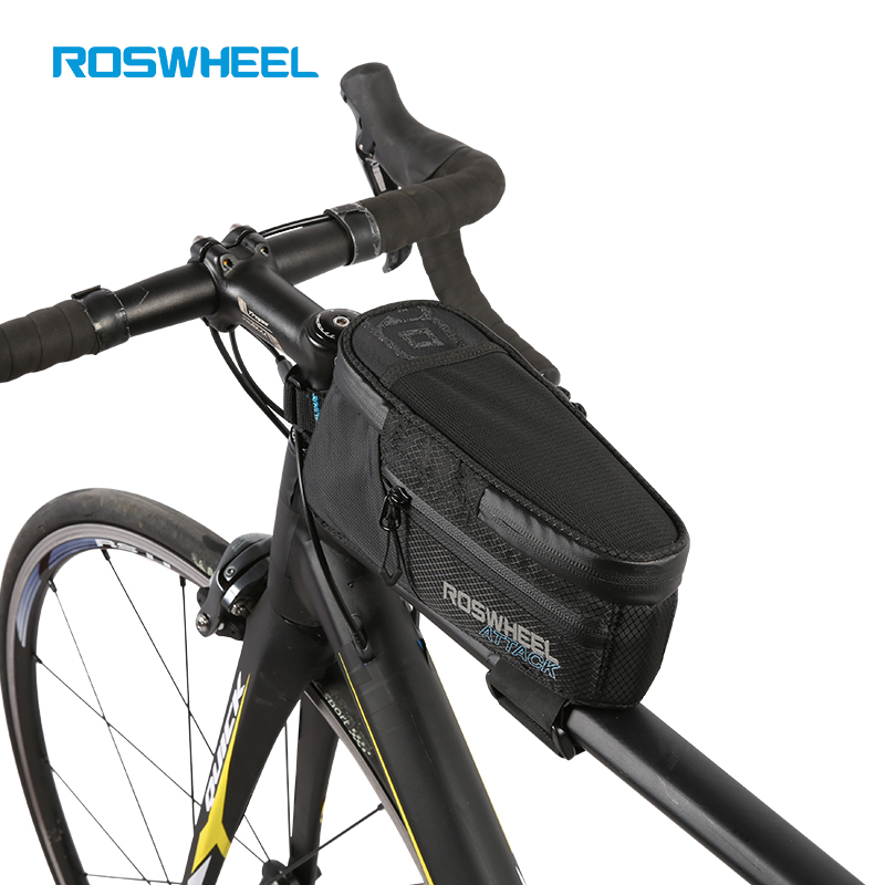 1L Roswheel Bicycle Bike Cycling Frame Pannier Front Top Tube Bag Sporting US