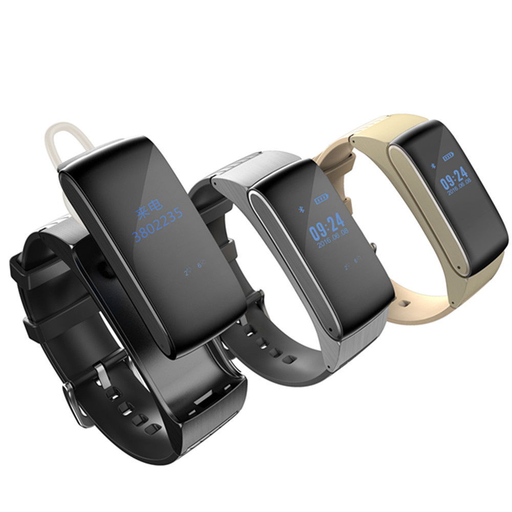 Smart Band Talkband Bluetooth Watch Bracelet DF22 Portable Talk Smartband Pedometer Active Fitness Tracker For IOS