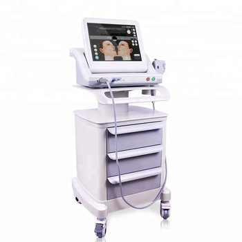 Livraison gratuite hifu machine de levage du visage et du corps 5 cartouches pour salon de beauté/nouveau portable hifu corps et visage