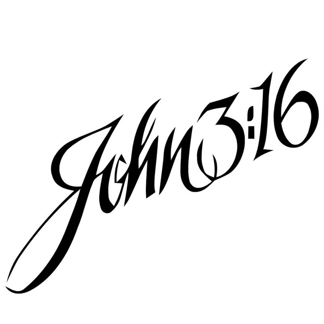 139 7cm john 316 car sticker decals personalized letters sticker car styling
