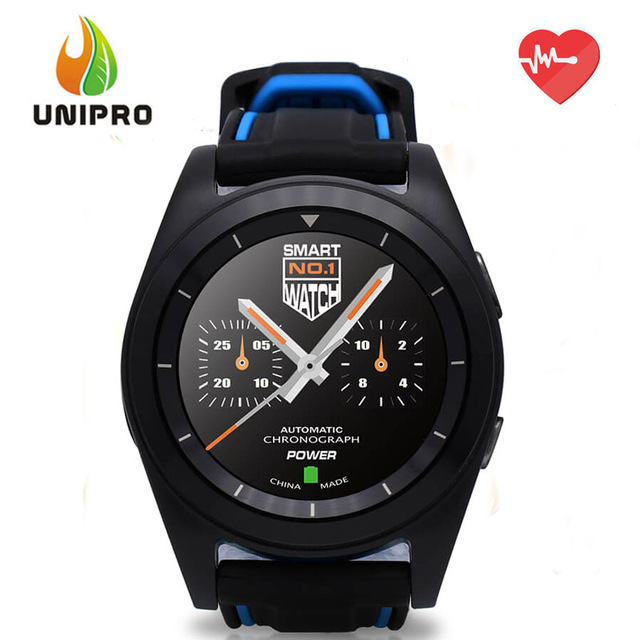 NO.1 G6 Bluetooth4.0 Smart Watch MTK2502 Heart Rate Monitor Sports Fiteness Tracker Remote Camera 380mAh Bettery for Android iOS