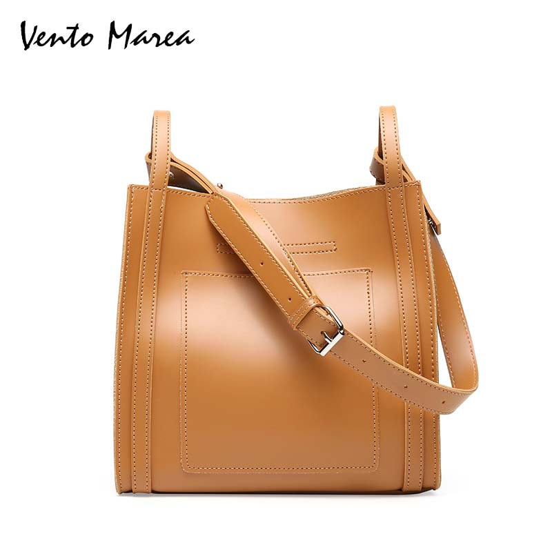 Vento Marea Women Bag Handbag Bolsos Mujer Large-Capacity Shoulder Bag Women PU Leather Handbags Tote Bag Bolsa Feminina brand designer large capacity ladies brown black beige casual tote shoulder bag handbags for women lady female bolsa feminina