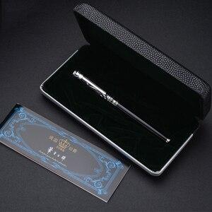 Image 5 - 公爵 Iraurita 万年筆 0.5 ミリメートル/1.0 ミリメートルインクペンフルメタル宝石 Caneta 文具オリジナルボックスギフト用 1042
