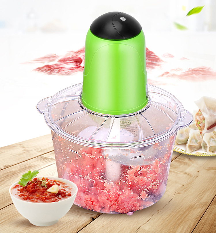 3.5L Large Capacity Electric Chopper Powerful Meat Grinder Multifunctional Household Food Processor Meat Kitchen Blender household 2l electric kitchen chopper shredder food chopper meat grinder stainless steel electric processor kitchen tool cocina