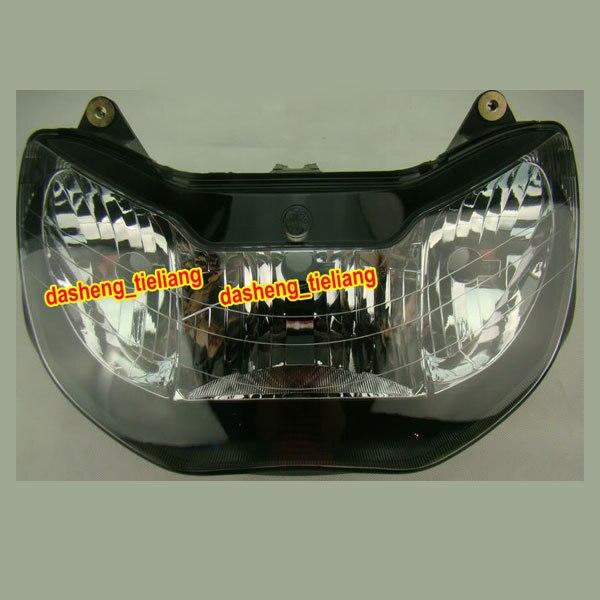 GZYF Avant Phare Phare pour Honda CBR 929RR 929 RR 2000 2001 CBR929RR, noir