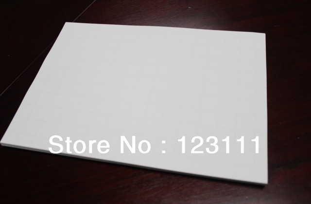 50 sheets A4 Light color heat tansfer paper for desktop inkjet printer,Epson,Canon,HP,Brother,lexmark-T shirt,Textile,Garment