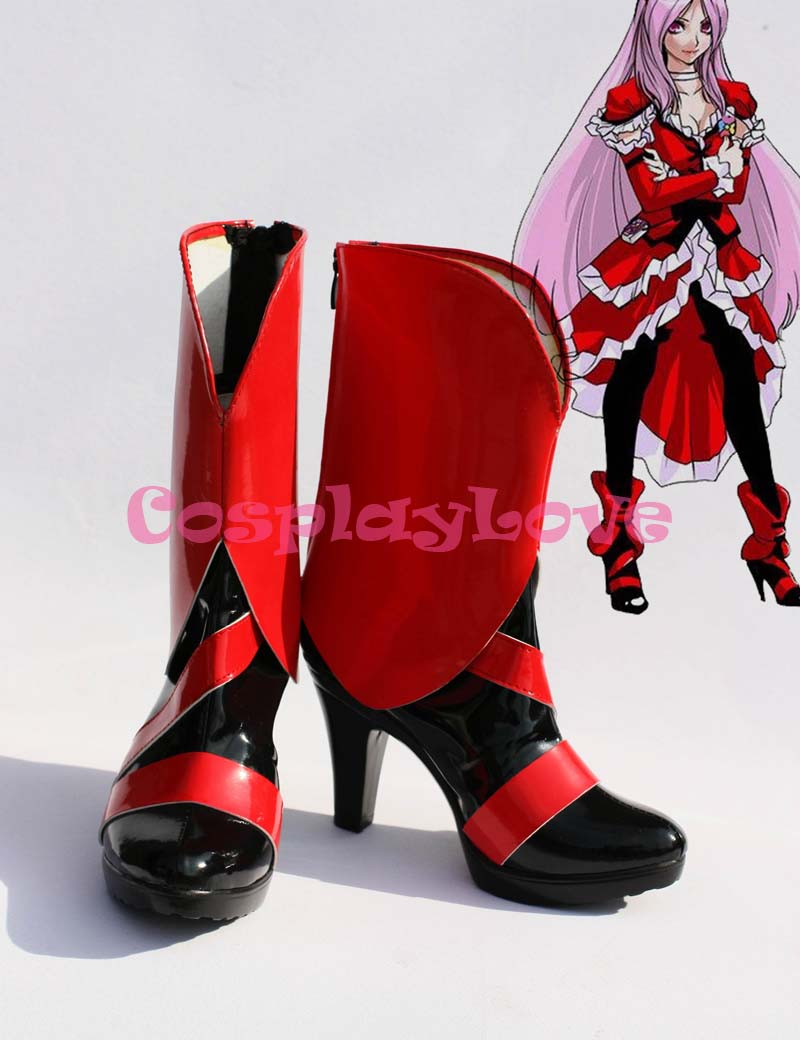 Newest Custom Made Japanese Anime Fresh Precure! Eas Cosplay Shoes Long Boots For Christmas Halloween CosplayLove Festival