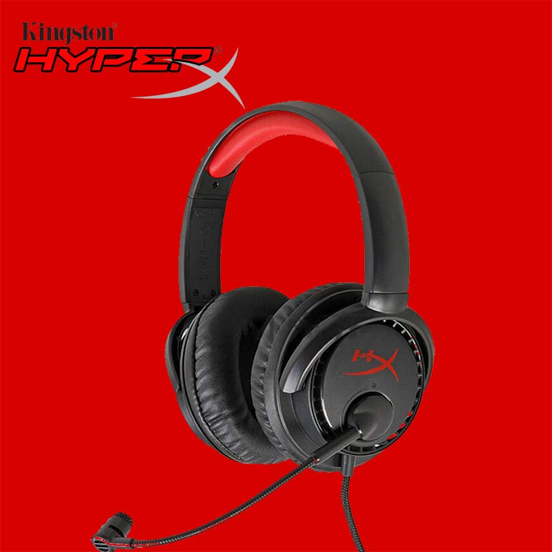 Kingston HyperX Cloud Earphone Headphone For Computer Gaming Headset With Microphone Mic For PC PS4 Xbox