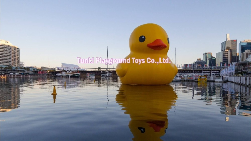 6 meters inflatable water floating rubber yellow duck6 meters inflatable water floating rubber yellow duck