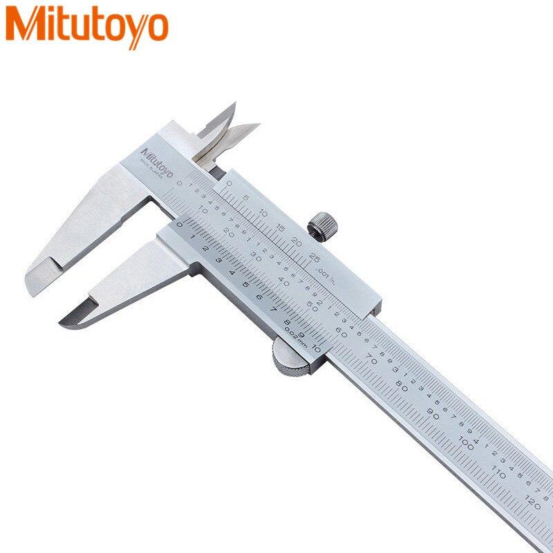 Originale Mitutoyo Vernier Pinza 530-312/530-118/530-119 Metrico/Pollici Pinza 0.02mm Micrometro Calibro di Misura strumenti