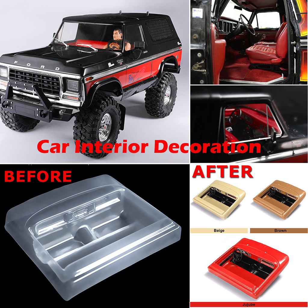 HIINST For Traxxas TRX4 Ford RC Simulation Car Interior Decoration Upgrade Part According To Your Preference FEB14