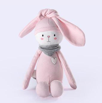 35cm lalka-królik nadziewane i pluszowe zwierzęta zabawki pluszowe zwierzęta miękkie dla dzieci zabawki dla dzieci dla dziewczynek dzieci chłopcy prezent urodzinowy kawaii zabawki tanie i dobre opinie xiange Tv movie postaci COTTON Pluszowe nano doll 3 lat Miękkie i pluszowe Pp bawełna Unisex