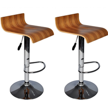 dos taburetes de la barra de madera silla de la barra para beber nave de