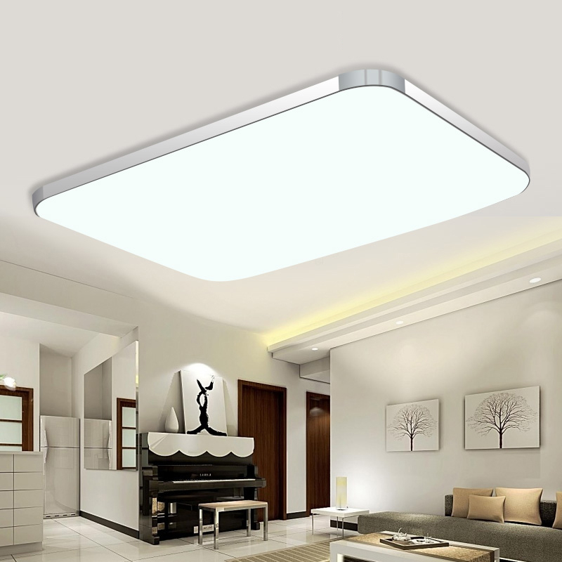 livingroom lamp ceiling light led 36w 72w children bedroom ceiling lamps acryl lampshade for. Black Bedroom Furniture Sets. Home Design Ideas