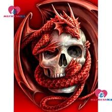 Full circular Diamond Painting 5D DIY Diamond Sugar Skulls Dragon Diamond  Embroidery Cross Stitch Rhinestone Mosaic Home Decor 4b83906b45b7