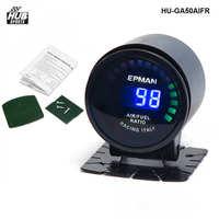 EPman Racing 52 Mm Smoked LED Digital Air Fuel Ratio AFR Gauge EP GA50AIFR