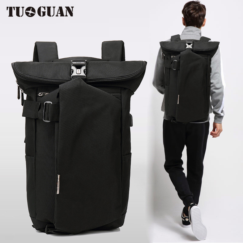 Fashion Men Waterproof Anti Theft Laptop Backpack USB Charging Large Back Pack Travel School Bags Bagpack for Male Boy multifunction men women backpacks usb charging male casual bags travel teenagers student back to school bags laptop back pack