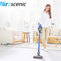 Proscenic P8 Vacuum Cleaner Big Suction Long Lasting Li Ion Battery Powered Rechargeable Bagless Stick Handheld