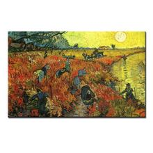 The Red Vineyard At Arles Vincent Van Gogh