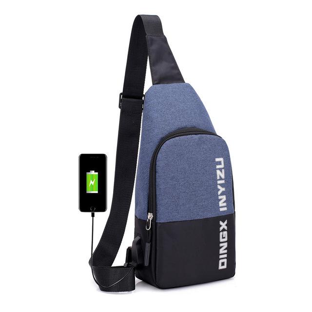 Waterproof, Antitheft, USB Charging, Smart, Shoulder Backpack