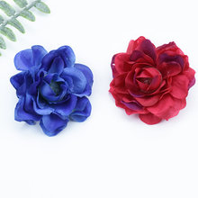 6CM Silk Peony christmas decorations for home wedding DIY needlework scrapbooking flowers artificial plants fake plastic flowers(China)