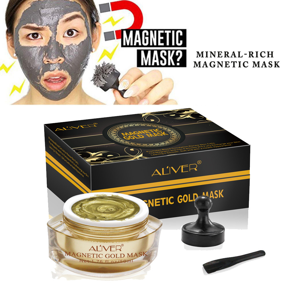 Dazzling Girl Store Health and Beauty Mineral Rich Magnetic Face Mask Pore Cleansing Removes Skin Impurities