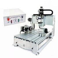 1pc 4 Axis CNC 3040 T D300 Engraving Machine CNC Router Mini Cnc Milling Machine 4pcs