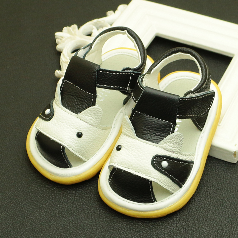 7c67c36a7486e Free shipping baby cattle genuine leather sandals male children child shoes  baby sandals beach boys sandal kids footwear-in Sandals from Mother   Kids  on ...