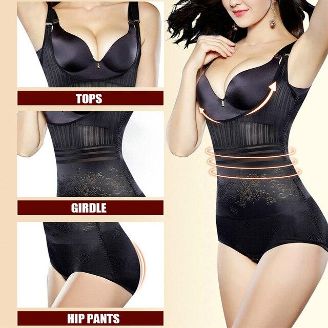 Women Post Natal Postpartum Slimming Underwear Shaper Recover Bodysuits Shapewear Waist Corset Girdle Black/Apricot Hot sale 1