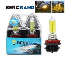 H8 Lampada Alogena Giallo 12 V 35 W 2700 K Auto Lampadina Del Faro Nebbia Luci PGJ19-1 Duro lampadine di Vetro per auto 2 PCS
