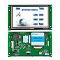 5 pulgadas HMI TFT inteligente de módulo de pantalla LCD con controlador + PROGRAMA + Touch + UART serie de interfaz