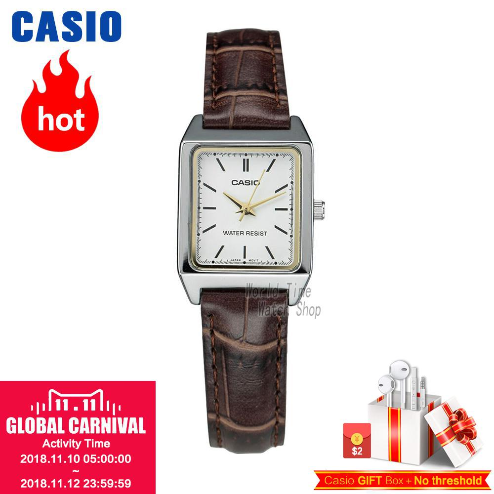Casio watch Ladies Watch Fashion Casual Simple Waterproof Quartz Ladies Watch LTP-V007L-7E2 LTP-V007D-7E LTP-V007D-2E цена и фото