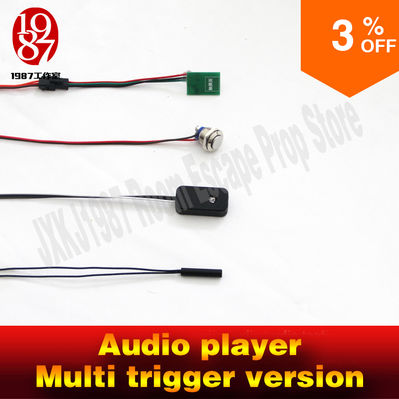 все цены на Chamber room escape real life room escape prop audio player multi trugger version to unlock jxkj1987 adventure game prop онлайн