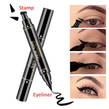 US $1.23 21% OFF|Double Ended Eyeliner Pen Waterproof Long Lasting Thin Eye Liner Stamp Liquid Fashion Eyes Cosmetic  Stamp Eyeliner Pen-in Eyeliner from Beauty & Health on Aliexpress.com | Alibaba Group